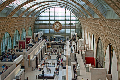 The Main Hall of the Musée d